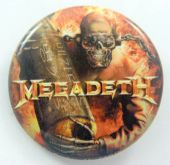 Megadeth - 'Arsenal' 32mm Badge